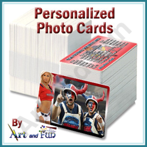 personalized photo cards